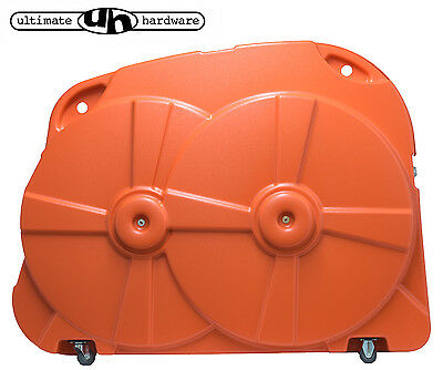 Bike Box Hard Case Orange Cycle Transport Quality Airport Cycle Travel Luggage
