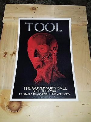 Tool poster 3 Governor's Ball poster puscifer a perfect circle helmet incubus