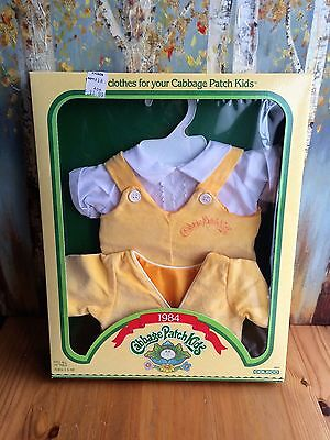 Vintage Original 1984 Coleco Cabbage Patch Kid Clothing Outfit in Box w/ Jacket
