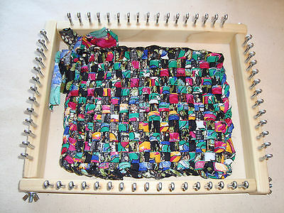 Oblong Size Potholder Weaving Loom - Hot Pad - For fabric strips - Cottage Looms