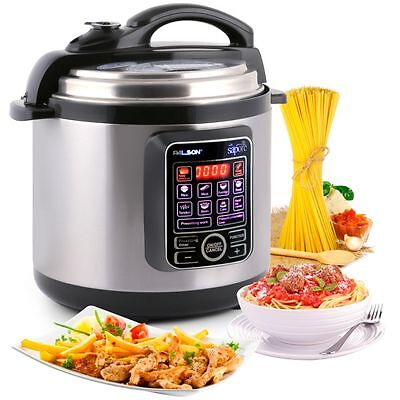 Palson Electric Pressure Cooker 10-In-1 Multi Cooker Rice Pot, 6 Litre,1000W
