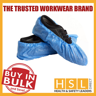 Disposable Overshoes, Waterproof Shoe Covers Protectors Blue Ce Certified