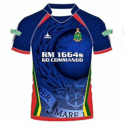 Royal Marines Official 7s Rugby shirt