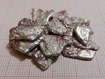Large  Natural Pure Silver Nuggets   100.00 Grams