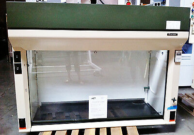 Fisher Hamilton SafeAire 8' Bench-top Fume Hood w/ Air Flow Monitor, Outlets, +