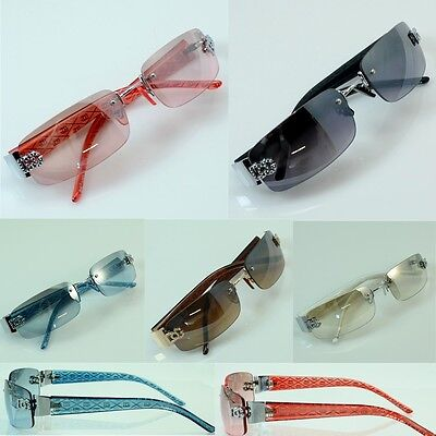 NEW Wholesale lot Men's DG Eyewear Rimless Small Tint Shades Designer Sunglasses