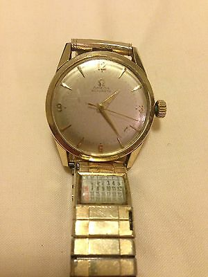 Vintage Omega Automatic Bumper Watch 14k Gold Filled