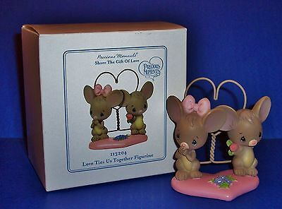 Precious Moments MICE Love Ties Us Together 113204 NIB