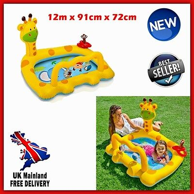 Baby Paddling Pool Kids Inflatable Outdoor Garden Water Park Summer Play Centre