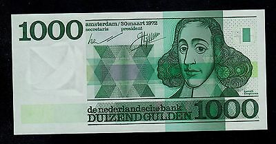 Netherlands  1000  Gulden  1972   Pick # 94  Unc.