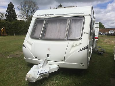 Abbey Freestyle 470 2-berth Touring Caravan 2007 with motor mover & full awning