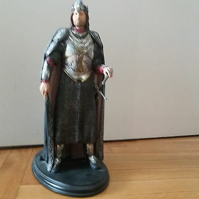 WETA ELESSAR KING ARAGORN Statue n° 2287 Lord Of The Rings MINT CONDITION + BOX