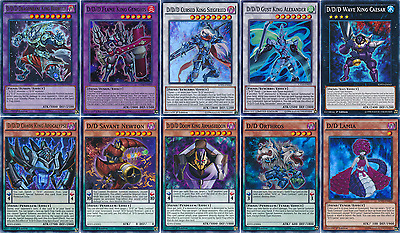 57 Cards D/D/D Contract Deck| OTK* Reiji's Different Dimension Demon Deck Yugioh