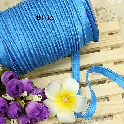 Insertion Cord Piping Binding Tape Satin Flanged Rope Sewing Cloth Crafts Multi