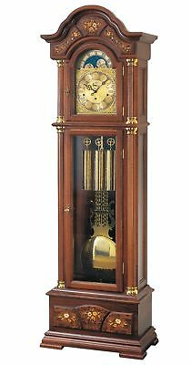 Grandfather clock walnut from AMS AM S2237/1 NEW