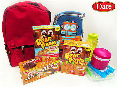 Canada Dare Snacks - Bear Paws, Wagon Wheels - Multiple Flavours Available