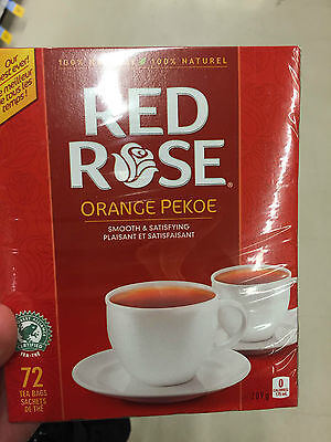 Red Rose Orange Pekoe tea 72 bags