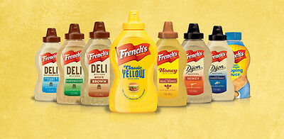 Canada - French's Ketchup/Mustard - Multiple Flavours Available