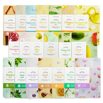 Etude House I Need You Facial Sheet Mask 20 Types 1Pc *UK SELLER*