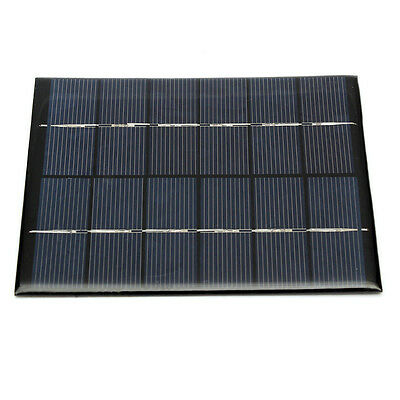 Mini 6V 2W DIY Solar Panel Module For Light Battery Cell Phone Charger 330m A8C0