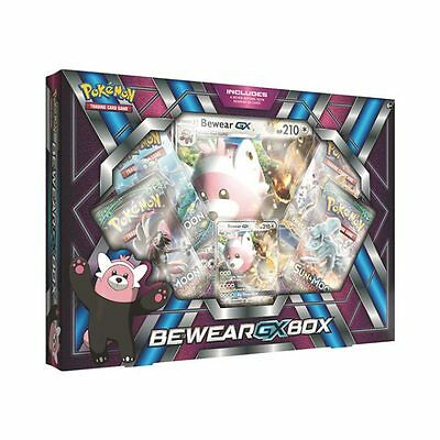 Pokemon Bewear GX Collection Box - Inc. 4 Booster Packs - Promo Card - BRAND NEW