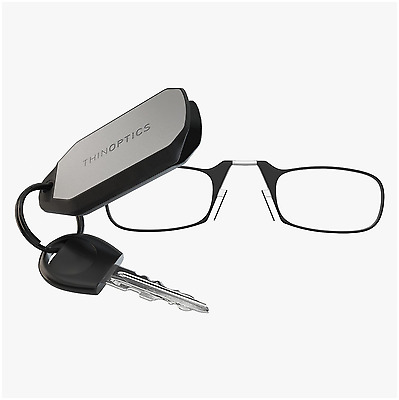 New - ThinOPTICS Keychain Reading Glasses  6 Colors Frame , 1.00 - 2.50 Strength