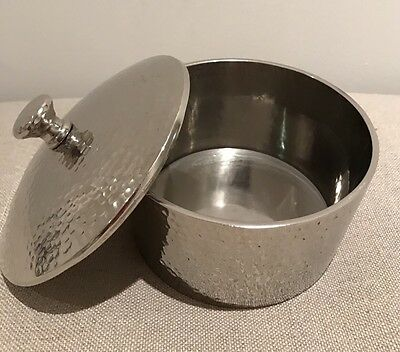 Zara Home Silver Container RRP £42