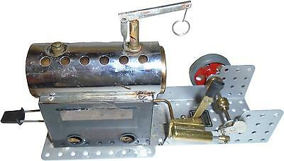 USED Mamod Meccano SP3 Steam Engine Boxed (D.T)