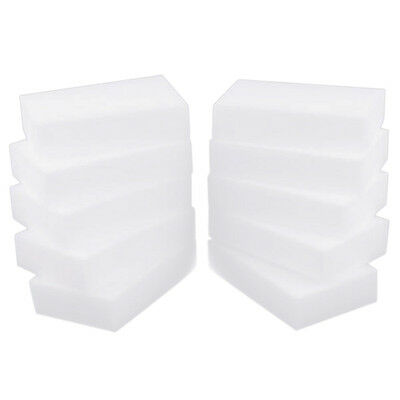 Melamine Sponge magical Sponge rub Melamine Cleaner Eco-Friendly white Kitc S1Q0