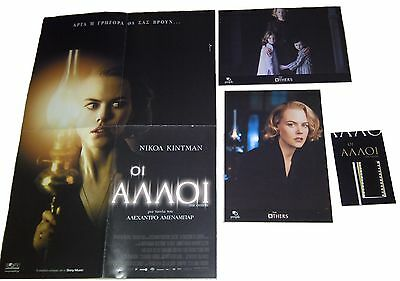 NEW*THE OTHERS (Nicole Kidman,Christopher Eccleston)POSTER+LOBBY CARDS+FILM CELL