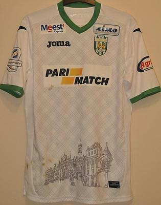 Karpaty Lviv Ukraine Match Worn Issue Football Shirt Jersey #70 Ivan Lobay