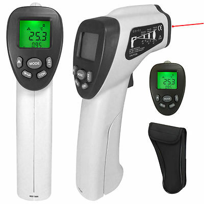 Non Contact Digital Temperature Thermometer IR Infrared Laser Point -22 ~ 1,022F