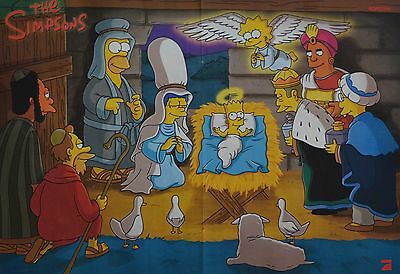 DIE SIMPSONS - A3 Poster (42 x 28 cm) - The Bart Simpson Clippings Fan Sammlung