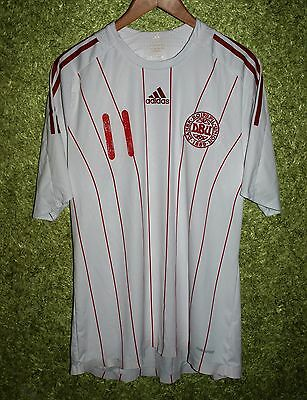 Denmark National Team Away 2008/2009 Jersey #11 PLAYER ISSUE FOOTBALL SIZE XL