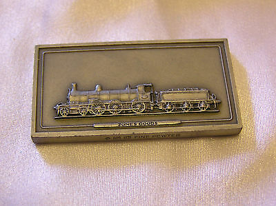 SOLID PEWTER INGOT of the JONES GOODS LOCOMOTIVE
