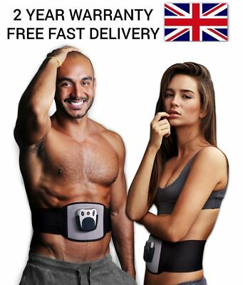Unisex Abs Ab Tone Front Muscle Abdominal Stomach Toner Toning Belt