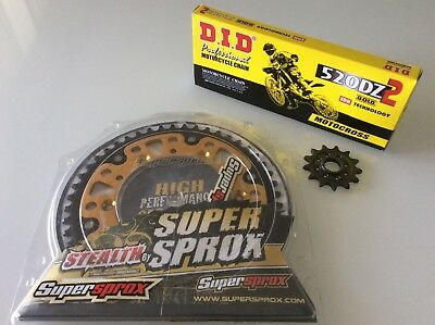 Kit Trasmissione Supersprox Honda Cr Crf Did Dz2 120 Mg