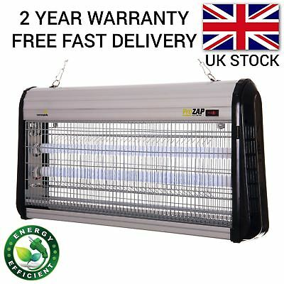 40W Professional Fly Killer Bug Zapper Insect Control Indoor Inside Use