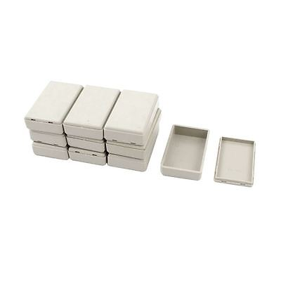 10pcs Plastic Electronic Project Case Junction Box 58mmx35mmx15mm J6E1