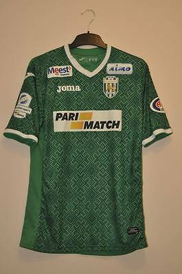 Karpaty Lviv Ukraine Match Worn Issue Football Shirt Jersey #9 Hutsulyak