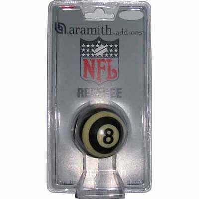 """Aramith Nfl Referee 8 Ball In Blister Pack - 2.25"""" - 2 1/4 In - New"""