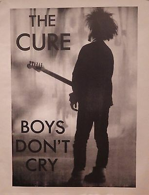 """TOUR POSTER~The Cure Live On Stage Robert Smith NOS 17x22"""" UK Import Classic~"""