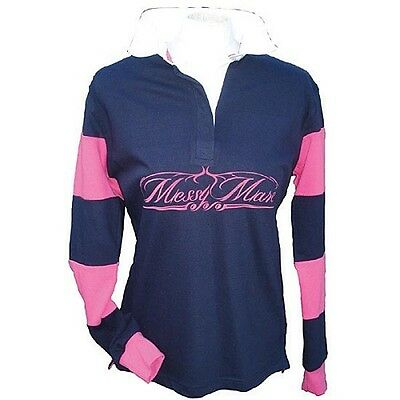 Ladies Messy Mare Horse Riding Rugby Shirt - Size Medium