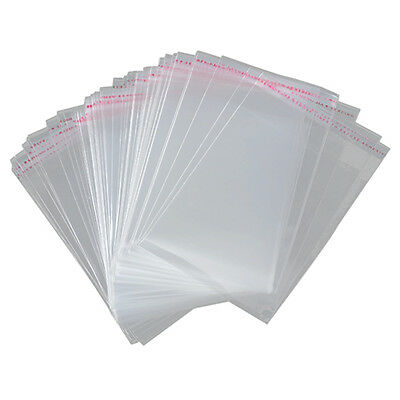 100x A3 package Bag 45x32cm Clear Resealable Plastic Self Seal Adhesive F4G5