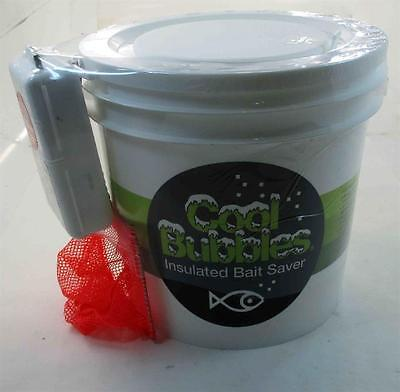 Marine Metal CB211 Cool Bubbles 8 Qt Insulated Pail Bait Saver w Aerator 22353