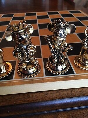 Disney Chess Set (Pewter)