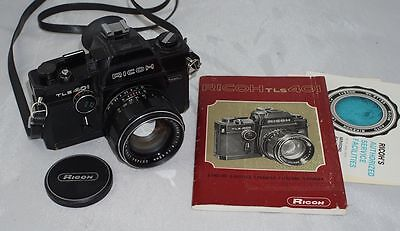 Ricoh TLS 401 Black Version Camera w/ Rikenon f1.4 55mm Lens