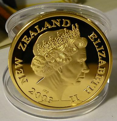 Lord Of The Ring New Zealand 0.999 Gold Coin