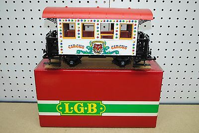 LGB 3036 Circus 2-Axle Passenger Car *G-Scale* NEW