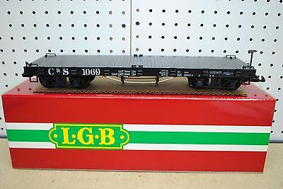 LGB 42690 C&S Colorado & Southern Flat Car *G-Scale* NEW